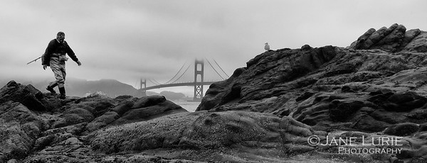 Heading Home, Baker Beach, SF
