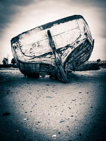 Poco a poco te fuiste desfondando hasta que no pudiste navegar más