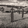 SJB Graveyard Crosses South-BW-Mission+Cemetary_Apr222014_0042