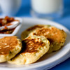 Savory breakfast - Corn pancakes
