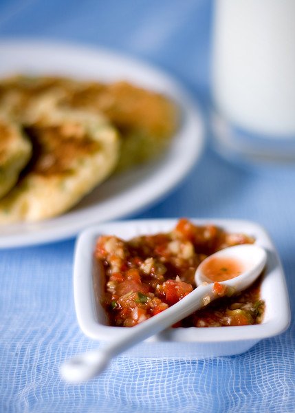 Spicy gazpacho Salsa