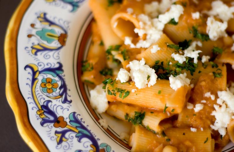 Pasta e Ceci - Pasta with chickpeas