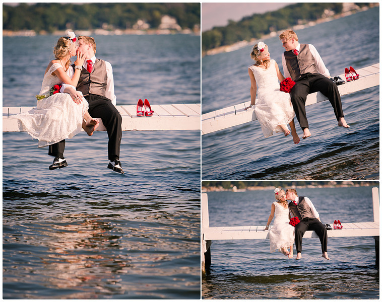 Wedding photography at Lake Lawn Resort, near Madison, WI by Ryan Davis Photography - wedding photographer from Rockford, IL