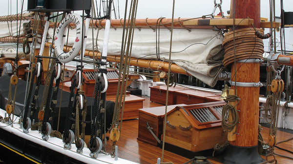 Bluenose Rigging<br /> Lunenburg, Nova Scotia