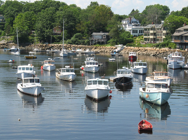 Against the Tide<br /> Perkins Cove, Ogunquit, Maine<br /> <br /> This is the picture that started me on my journey.