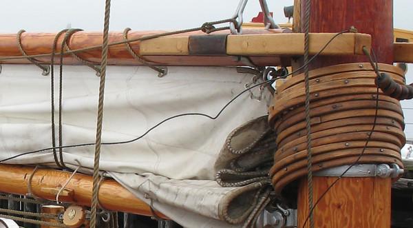 Bluenose Boom and Sail<br /> Lunenburg, Nova Scotia