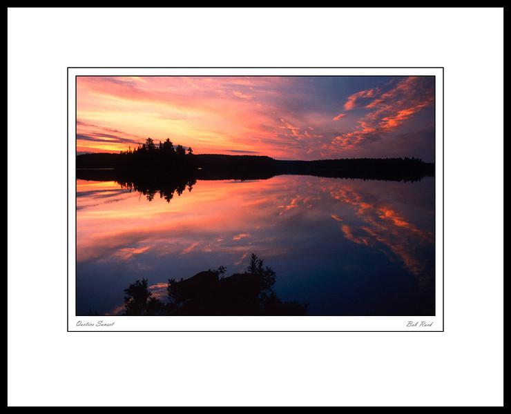 0001 Quetico Sunset
