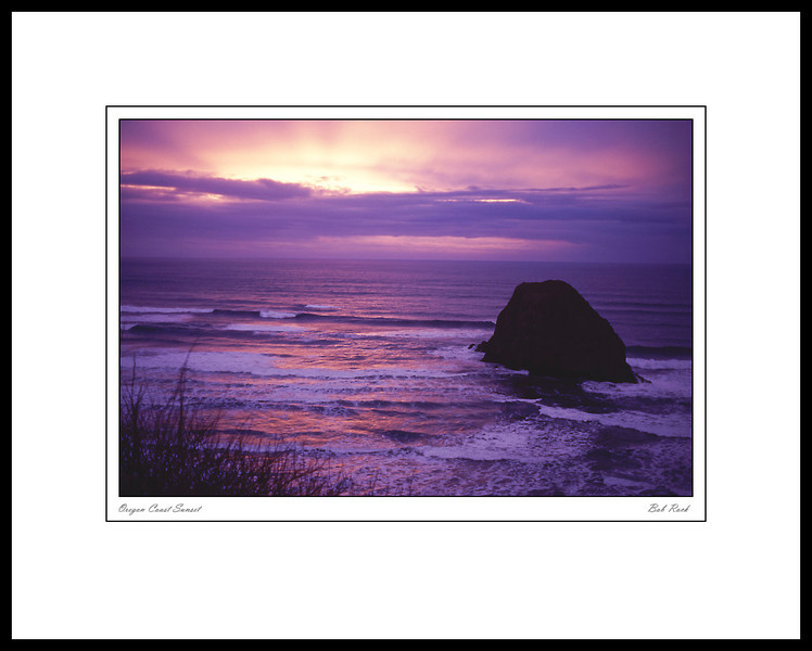 1096 Oregon Coast Sunset