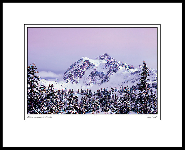 0018 Mount Shuksan in Winter