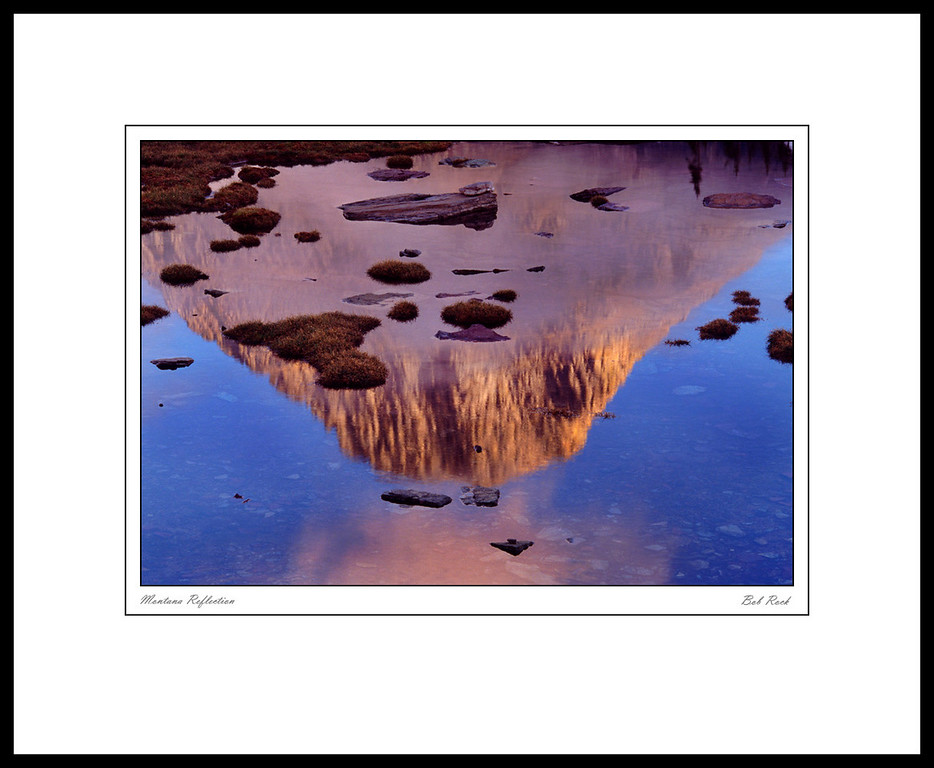3169 Mountain Reflection