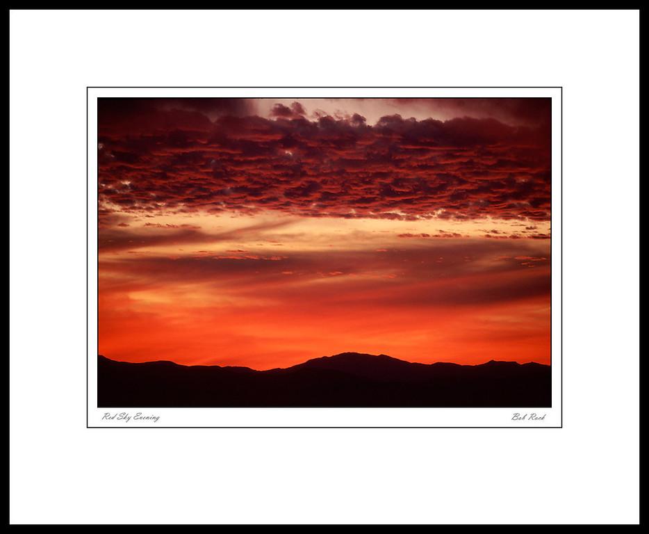 Red Sky Evening (6227)