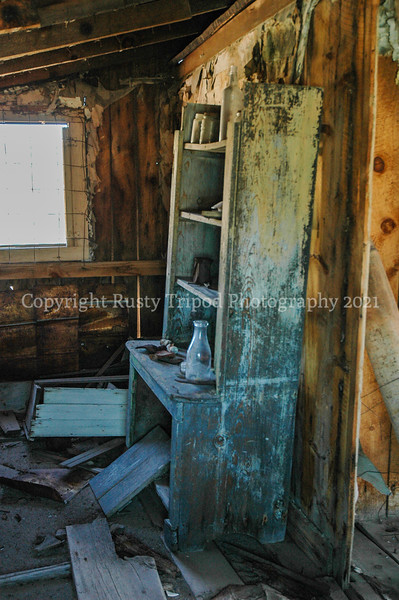 Bodie Home Ruins