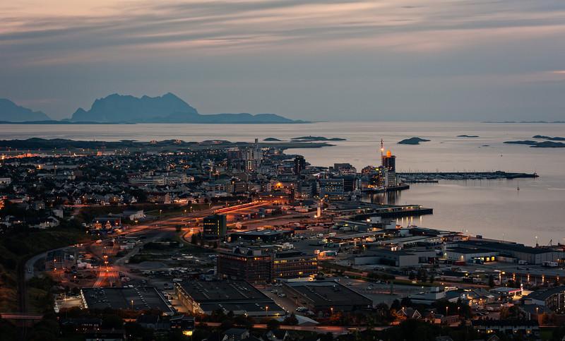 Bodø kveldslys