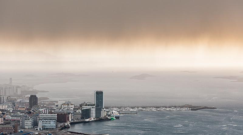 Bodø snøbyge