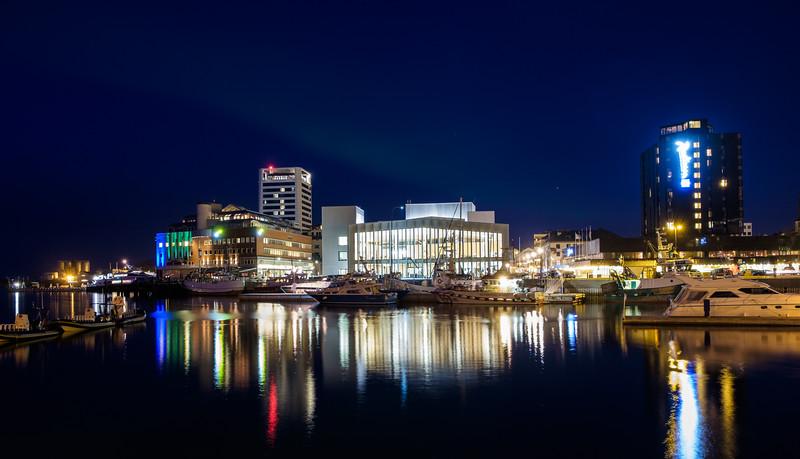 Bodø at night 2015