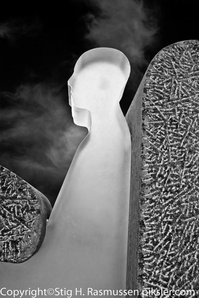 Skulptur Bodø Torg
