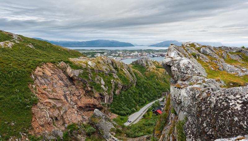 Utsikt fra Bratten Bodø