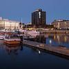 Stormen kulturhus og Sas hotellet Bodø
