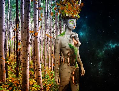 Julie Hassett Body Paint - Body Fine Art