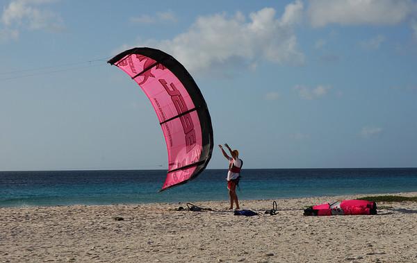 Kite Surfing, Bonaire
