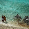 "the beach at ""1000 Steps"", Bonaire"