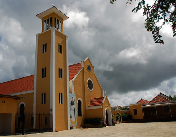 Church in Rincon, Bonaire