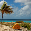 Pink Beach marker, Bonaire