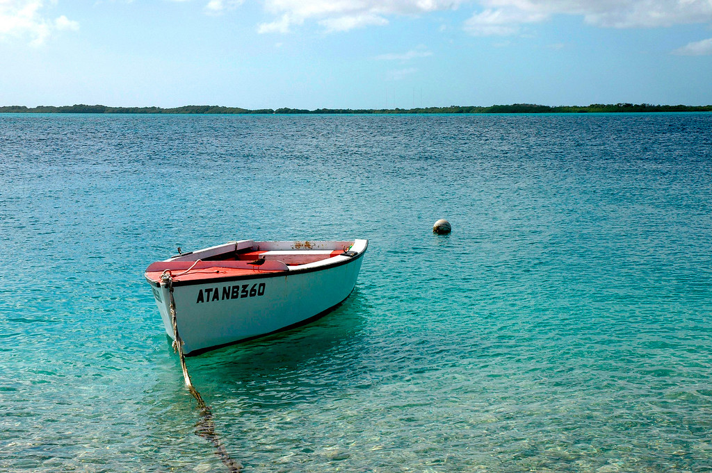 Caribbean sea and boating