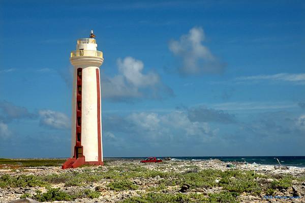 Bonaire's Wilemstoren Lighthouse