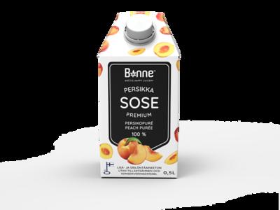 4500399 BONNE Premium Virsikupüree 0,5L