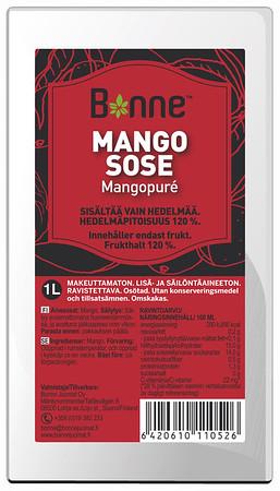 4510199   BONNE Mangopüree 1L