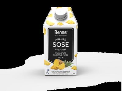 4500599 BONNE Premium Ananassipüree 0,5L