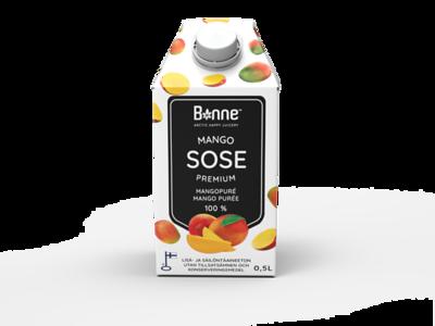 4500199 BONNE Premium Mangopüree 0,5L