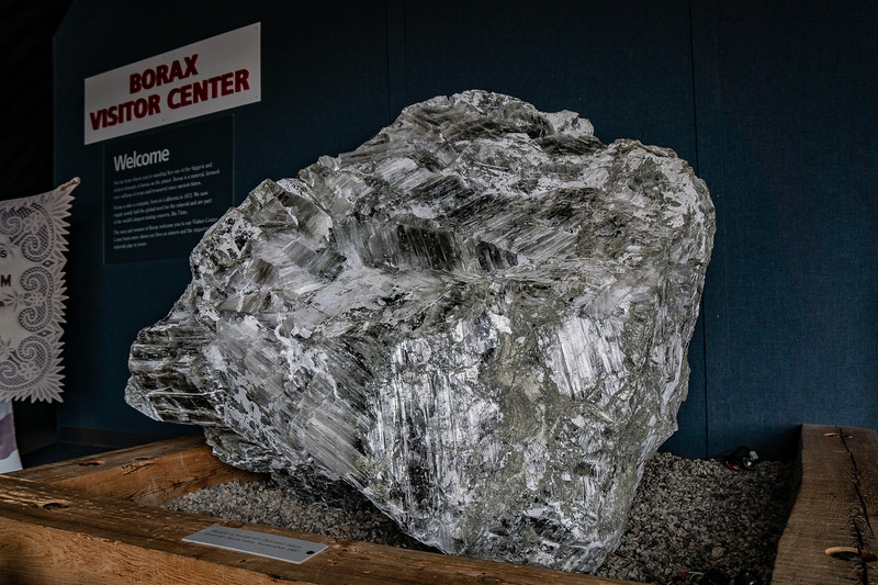 Huge example of Kernite, named for Kern County.