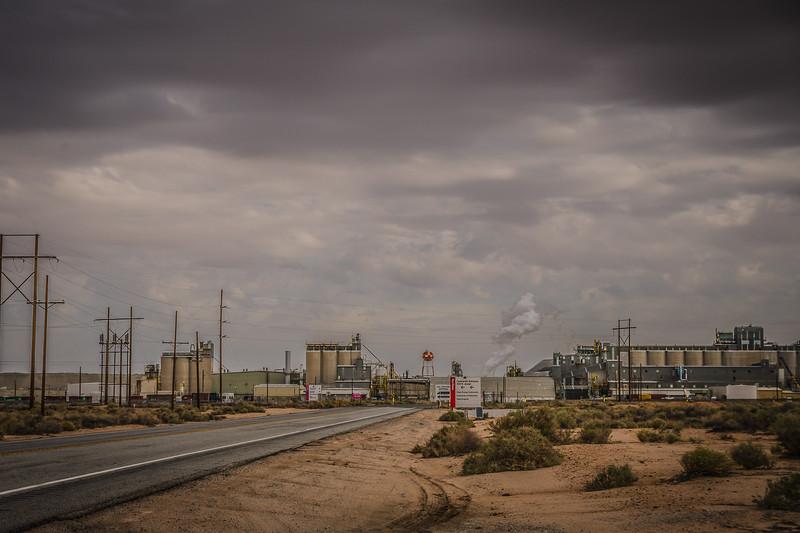 Rio Tinto Minerals mining facility at Boron, CA