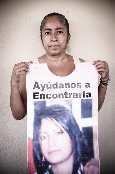 The mother of a desaparecida.