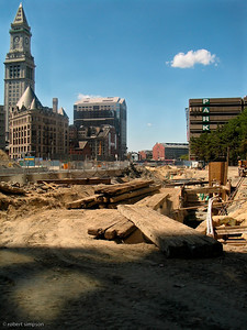 "Building the ""Greenway"" was a very slow process.  No parks yet.  (July 23, 2005)"