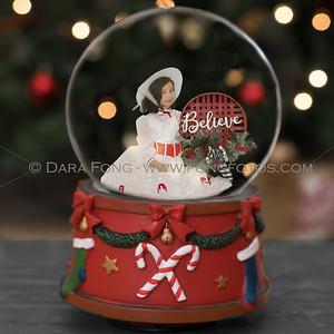 Believe Snow Globe B