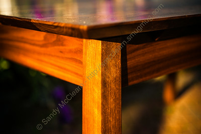 Scratch built table by Brad Holley. @holleywoodshop