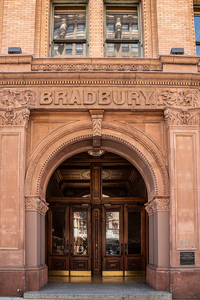 Entrance to the Bradbury Building