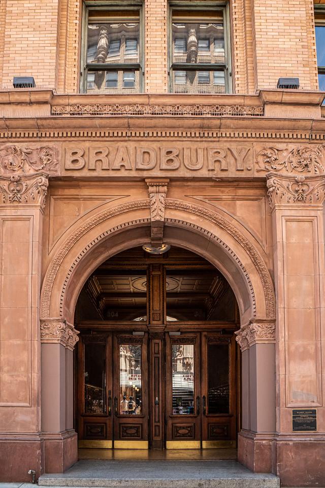 Entrance to the Bradbury Building