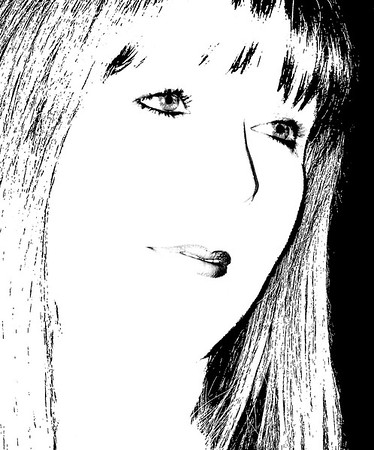 20120109_Self Portrait_0775-edit02-BW-more black bkgrd-major crop-lip edit-rotated