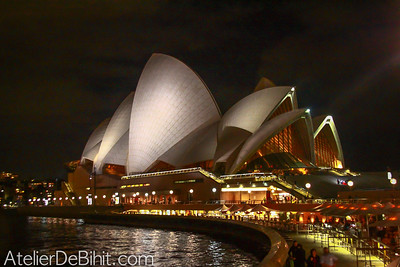 Opera House Syndey by night
