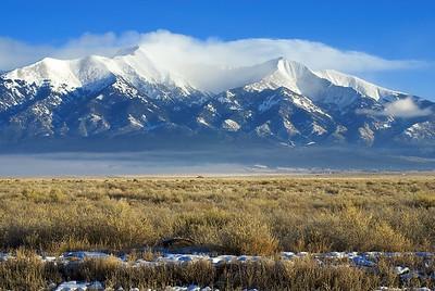 Blanca Peak, Colorado, winter 2008