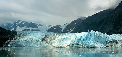 Surprise Glacier, Alaska, in Prince William Sound.