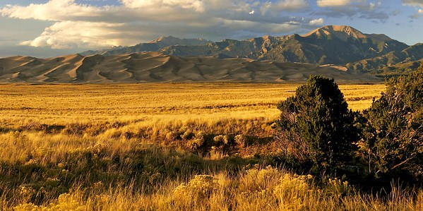 Sunset at Great Sand Dunes National Park, Colorado