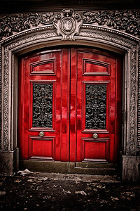 Red Door #72 It waited. And watched. People streamed by on the Paris street it called home. Some lost in thought, some late for work. One munching a croissant, another walking a mini dog on her morning constitution. Still it waited. And watched. One of these people would not be a passerby. One would have The Key. Which would fit perfectly. Slipped into the keyhole, it would slide the latch and unlock #72. Only then would the door swing open, just enough to let this one pass. Into a different light, a different sound, a different world.  The door creaked in anticipation.  Until then,  It waited. And watched.    ©Karen Hutton - Creative Commons (CC BY-NC 3.0)