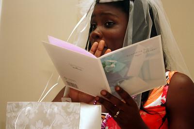 Bridal Shower/Wedding