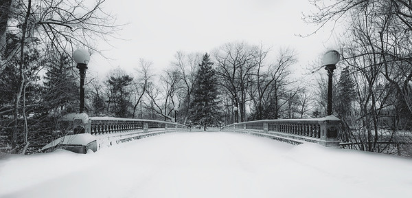 """""""Bridge To Narnia""""  The old historical Mead Bridge in Wisconsin Rapids, Wisconsin. This old bridge spans a portion of the Wisconsin River and leads to the private Mead Island."""