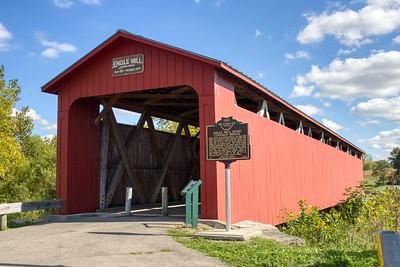Engle Mill Road Covered Bridge